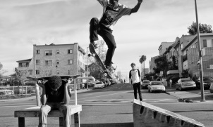 """of the skateboarders – Oakland"" - Danielle Ciccone"